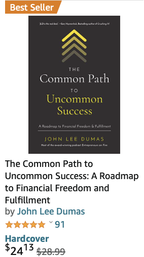Product image - Uncommon success book